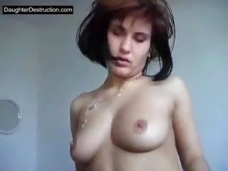Teen girl fucked hard as hell