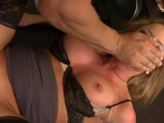 Hardcore MILF Office Secretary Stockings