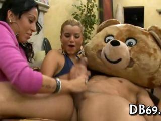 CFNM Funny Handjob MILF Party
