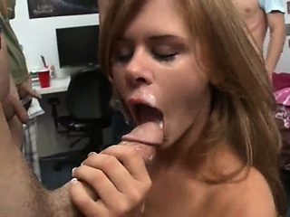 Blowjob Cumshot Groupsex Student Swallow Teen