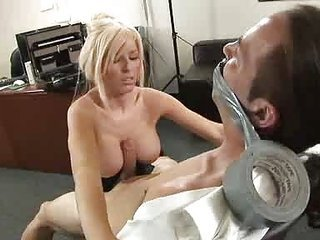 Big Tits Blonde Fetish MILF Office Secretary Tits job