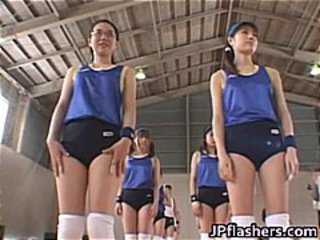 Amateur Japanese teens exposed playing part3