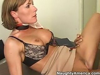 Saskia Steele  Sexy Milf Teacher