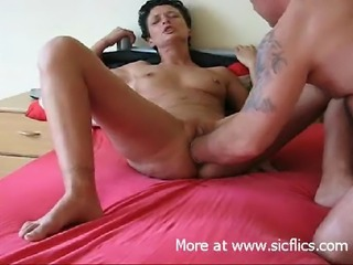 Extreme amateur slut takes a huge fist fucking in her drooling loose cunt...