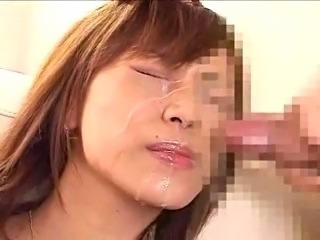 Asian Bukkake Cumshot Facial Japanese Teen
