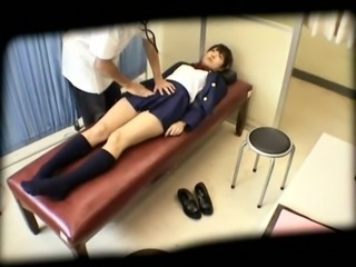Asian Japanese Massage Student Teen Uniform Voyeur
