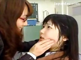 Asian Glasses Japanese Lesbian Student Teacher Teen