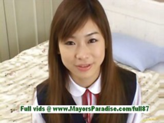 Ami hinata from idol69 petite asian girl at home talking