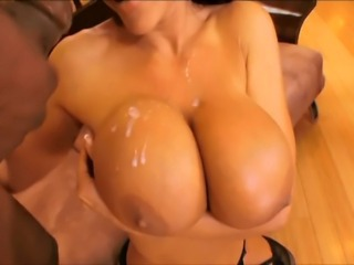 Cum on tits compilation