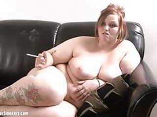 Amateur BBW Natural Smoking Tattoo Teen