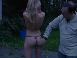 Ass Outdoor Pain Teen