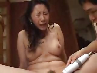 Asian Japanese MILF Orgasm Toy