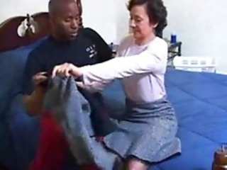 Interracial Mature Mom Old and Young