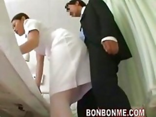 Nurse Handjob In Front Of Wife 0...