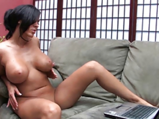 Amazing Big Tits MILF Natural Solo