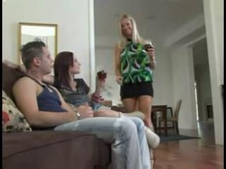 Daughter Drunk Family MILF Mom Teen Threesome