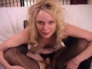 strapon fantasy with a blond mistress