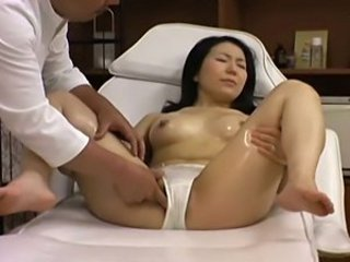 Ass Massage MILF Oiled Panty