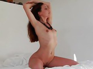 Her neatly trimmed pussy is gorgeous tubes