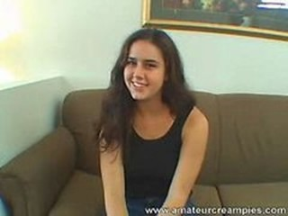 Amateur Brunette Cute Teen