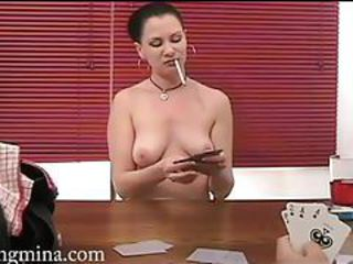 Amateur Game SaggyTits Smoking Teen