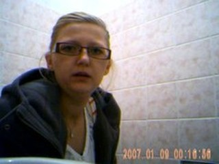 Glasses  Teen Toilet Voyeur