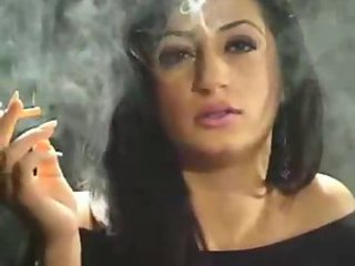 Arab Babe Smoking
