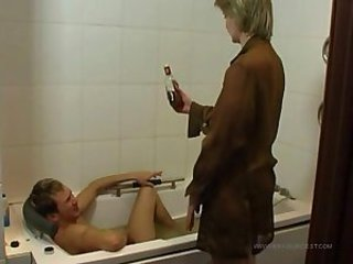 Mature mother fucked by her drunk boy