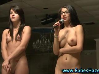 Glasses Nudist Student Teen