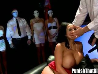 MILF Sienna West in Bizarre Punishemnt Party Sucking