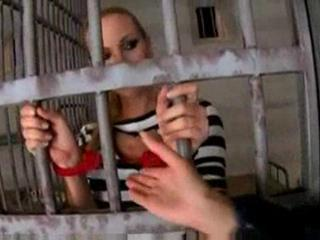 Dirty lesbian cop cindy hope plays with prison inmate www.be