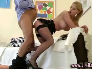 Amazing Daddy Doggystyle Old and Young Stockings Teacher Teen