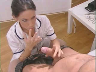 Big cock Blowjob MILF Nurse Uniform