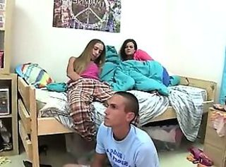 Amateur Student Teen Threesome
