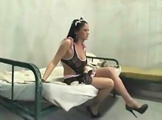 Young slave in jail waiting to fuck men