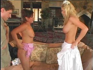 Bride MILF Threesome