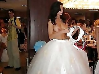Amateur Bride Public Teen