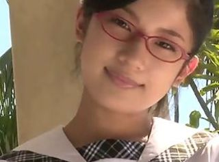 Asian Babe Cute Glasses Japanese Teen