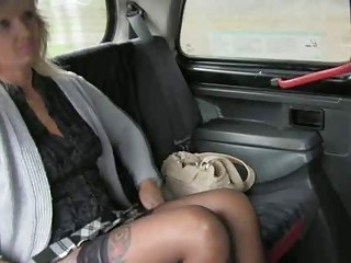 Car Mature Stockings