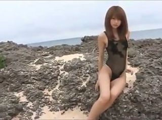 Asian Beach Bikini Japanese Teen
