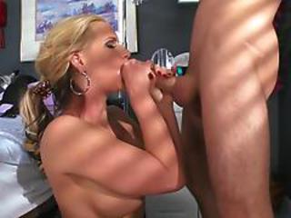 Blonde Doctor Is Submissive At Work