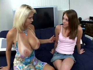 Amazing Big Tits MILF Natural Teen