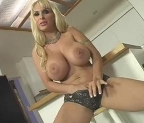 Blonde Cougar - Big Tits