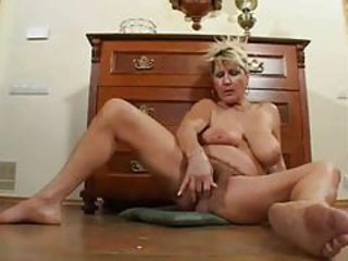 Big Tits Masturbating Mature SaggyTits