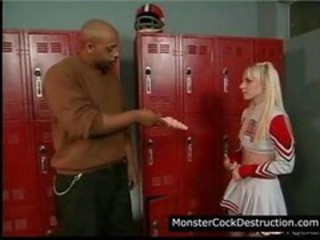 Cheerleader Interracial School Teen Uniform