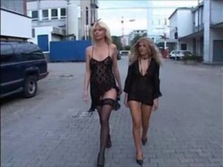 Cash European German MILF Public Stockings