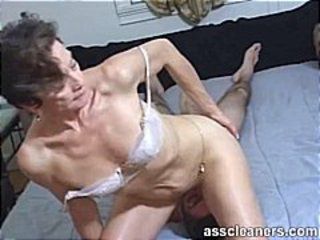 Facesitting Femdom Mature Old and Young Slave