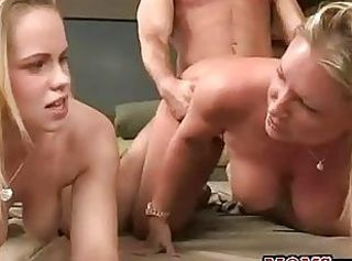 Daughter Doggystyle Family MILF Mom Old and Young Pornstar Teen Threesome