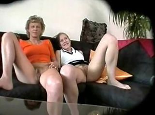 Amateur Daughter Hairy Lesbian Mature Mom Old and Young Pussy Teen