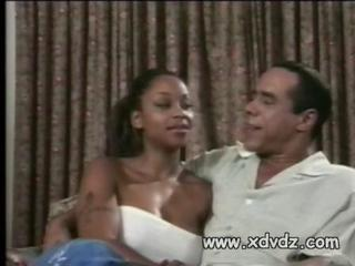 Black Husband Introduces His Beautiful Wife Kitten To A Porn Director